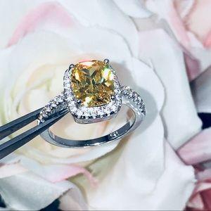 Jewelry - 14k white gold diamond engagement ring wedding